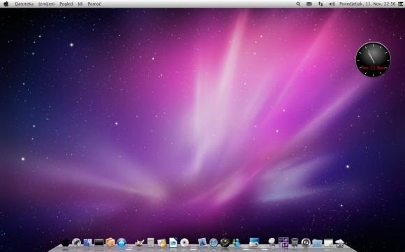 Pear OS 8 - Izgled radne površine
