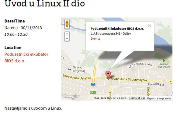 Uvod u Linux (predavanje, II dio)