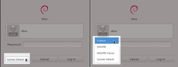Pokretanje Fluxbox sesije u Gnomeovom login manageru