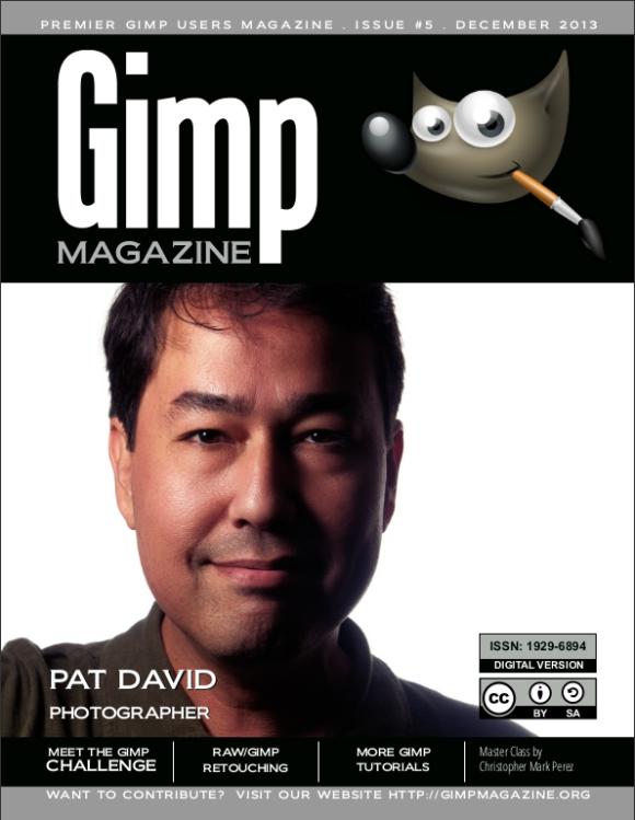 GIMP Magazin br.5. - naslovnica
