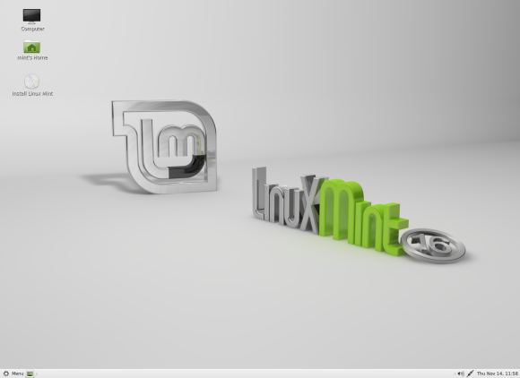 Linux Mint 16 - MATE (izvor: Linux Mint Blog)