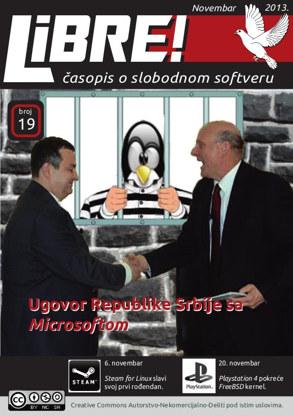 Libre 19 - naslovnica