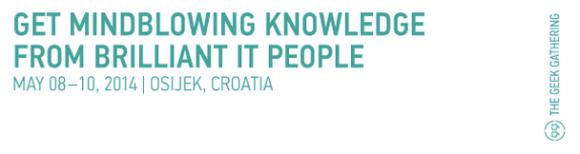 TGG 2014. Izvor: http://softwarecity.hr/aktivnosti/konferencija-the-geek-gathering-2014-osijek-datum-cijene-kotizacije/