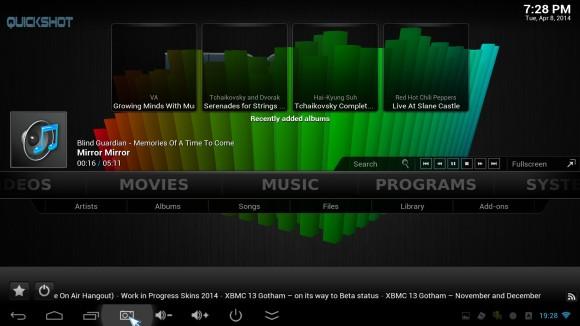 Muzika u XBMC-u