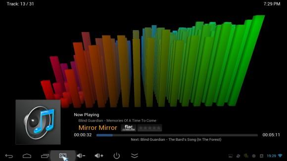 XBMC - muzika