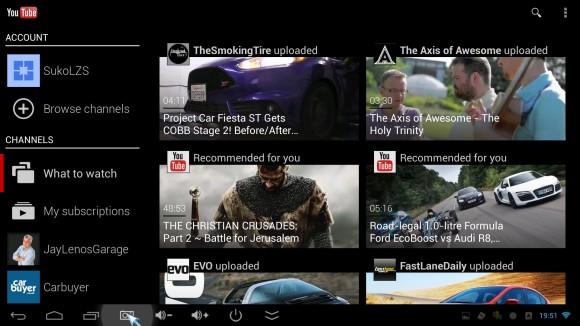 Youtube aplikacija