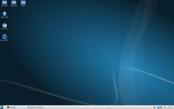LXQt desktop Izvor: http://lxqt.org/