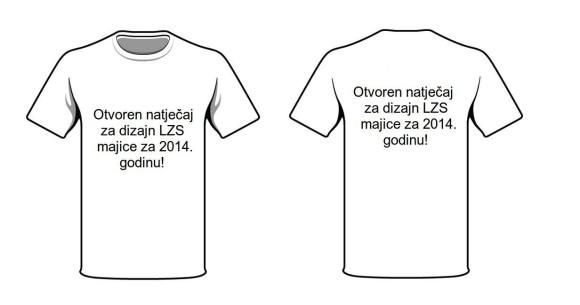 Natječaj za dizajn majice 2014.