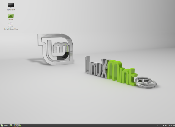 Linux Mint 17 - Cinnamon radno okruženje