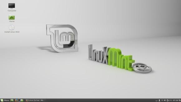 Linux Mint 17 Cinnamon Live