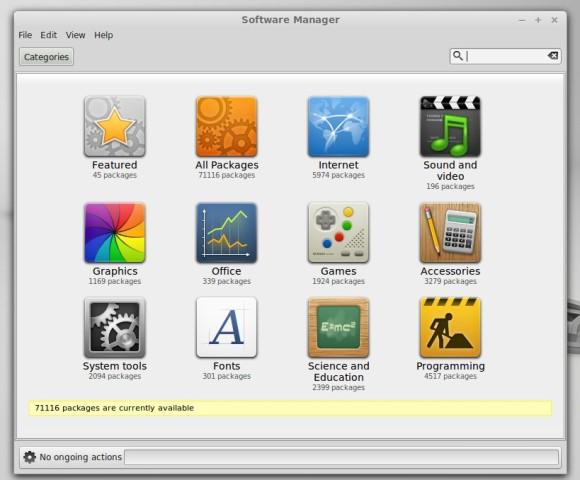 Pomoću Software Managera ćete s lakoćom pronaći i instalirati željene programe.