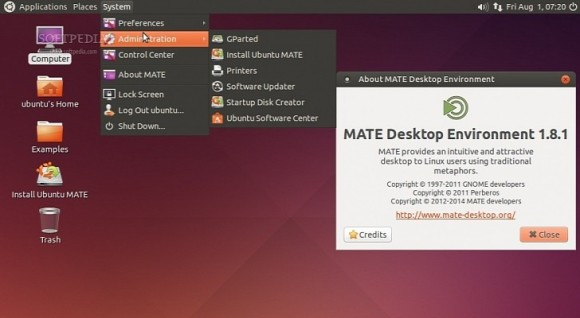 Ubuntu MATE Remix Alpha2
