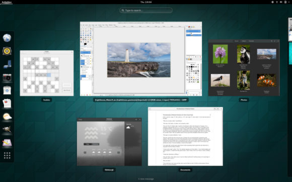 GNOME 3.14 - Activities