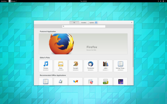 GNOME 3.14 - Software Center