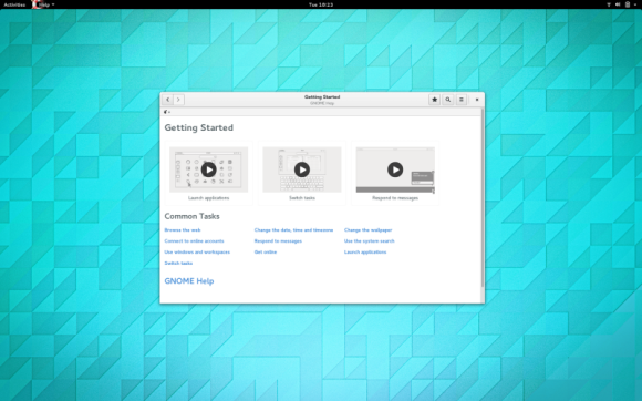 GNOME 3.14 - Help