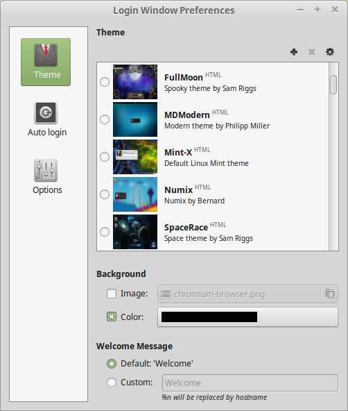 Mint 17.1 - login screen Izvor: http://www.linuxmint.com/rel_rebecca_mate_whatsnew.php