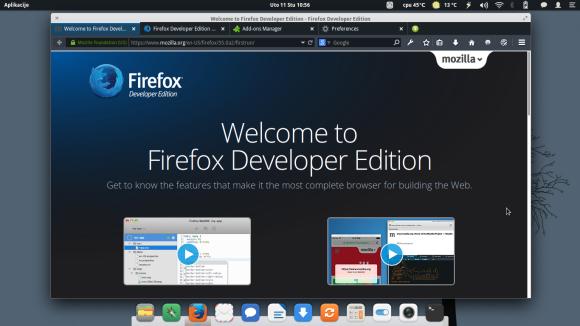 Firefox Devloper Edition
