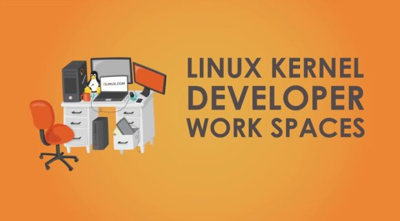Linux Kernel Developer Work Spaces - Izvor: LinuxFoundation-YouTube