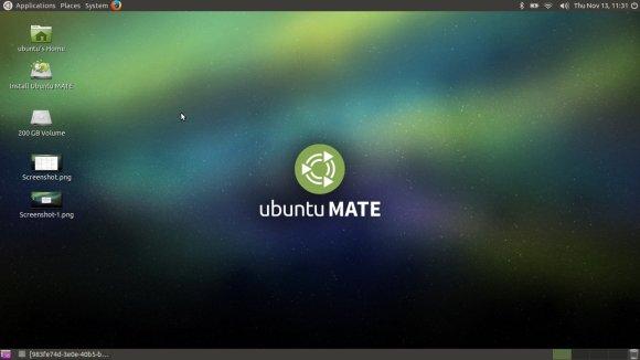 Ubuntu 14.04.1 MATE - desktop