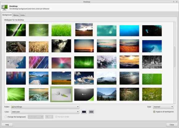 Mint 17.1 Xfce - Desktop Settings Izvor: http://www.linuxmint.com/rel_rebecca_xfce_whatsnew.php