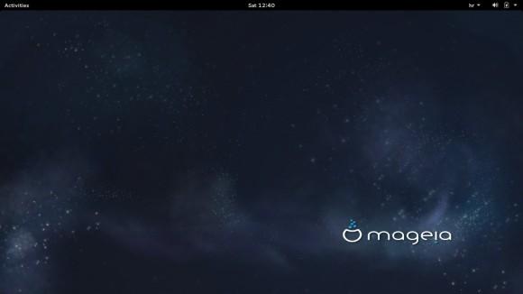 Mageia Live GNOME