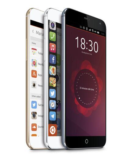Meizu MX4 Ubuntu Edition - Izvor:  http://www.liliputing.com
