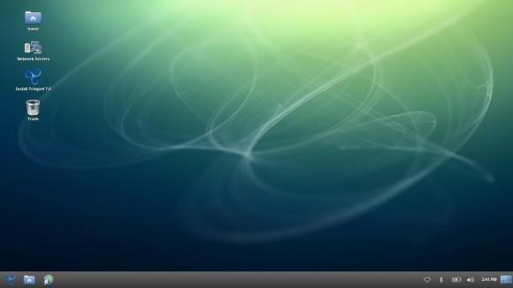 Trisquel 7.0 - Live desktop