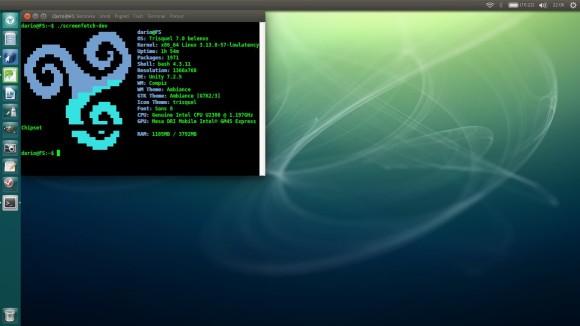 Trisquel - Unity desktop environment