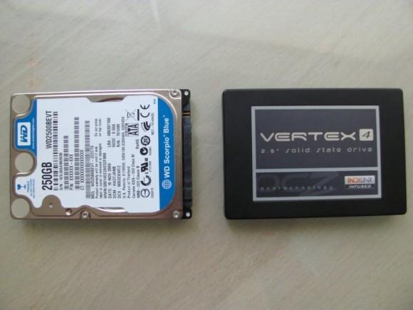 WD HDD & OCZ SSD