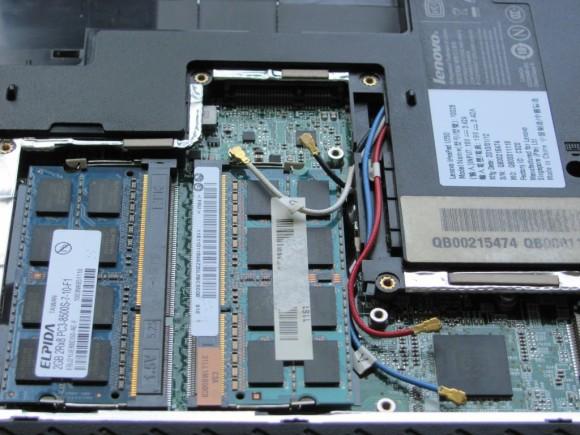 RAM - 2 x 2 GB