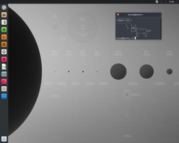 Moj Ubuntu desktop