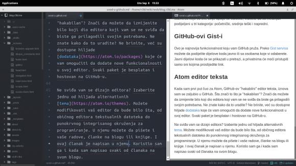 text editor - Atom