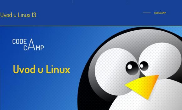 Uvod u Linux - 13 dio Izvor: Open Source Osijek