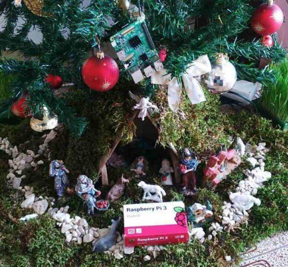 Raspberry Pi pod borom