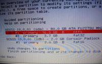 Debian installation minimal