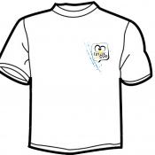 Bijela majica prednja strana (sezona 2012)