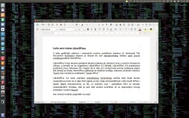 LibreOffice 5.0 - OS Ubuntu